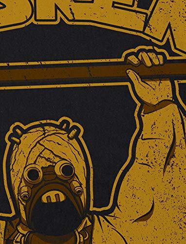 Gym Tatooine para Center hombre Crossfit Camiseta Raider Hormiga Negro S4Fqpp