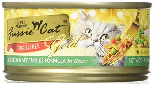 Fussie Cat Gold Super Premium Grain Free Chicken and Vegetab