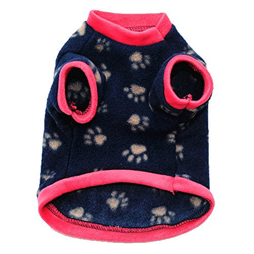 Wouke Pet Clothes, Puppy Winter Sweater Fleece Soft