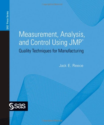 Read Online Measurement, Analysis, and Control Using Jmp: Quality Techniques for Manufacturing ebook