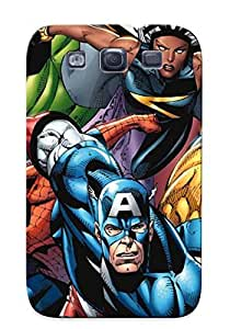 New Tpu Hard Case Premium Galaxy S3 Skin Case Cover(avenger 6 Art For Pc Mobile Ipad Htc Iphone) For Christmas Gift