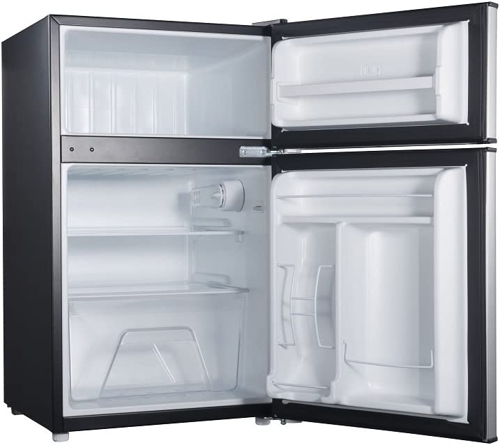 Amazon.com: willz wlr31ts1 3.1 Cu Ft. Nevera Puerta Doble ...