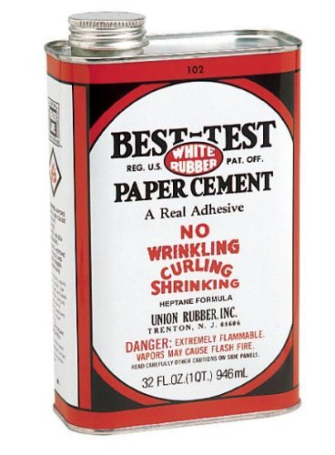 Best-Test Rubber Cement: 32 oz. by Best-Test