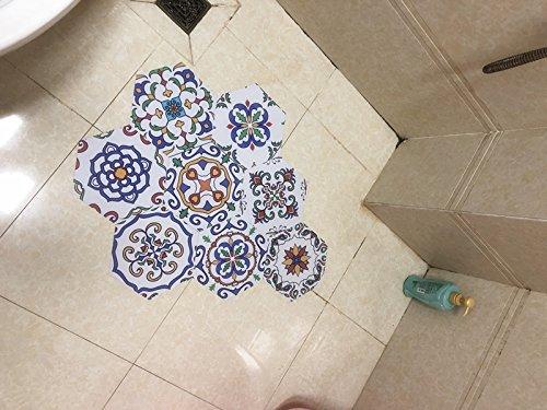 Piastrelle esagonali marocchine da bagno cucina impermeabile