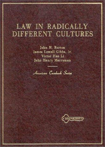 Barton, Gibbs, Li, and Merryman's Law in Radically...