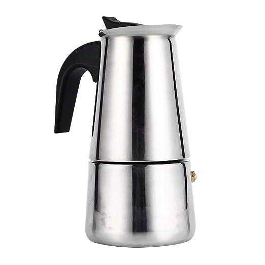 Cafetera Italiana De Café Espresso con Filtro De Acero Inoxidable ...