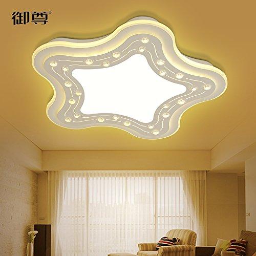 LED cristal techo lámpara infantil caliente minimalista ...