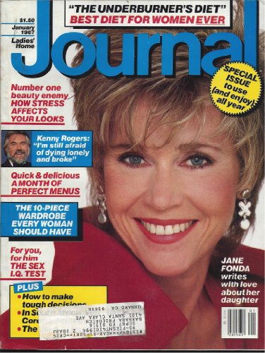 Blythe Journal (1987 January Ladies Home Journal with Jane Fonda)