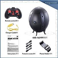 Nacome New Egg Quadcopter ,2.4G WIFI 720P Camera FPV RC Ball Shaped Quadcopter MINI Pocket Foldable Drone