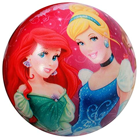 Disney Princess Kids Foam Bouncy Ball Indoor Outdoor Toy Ariel Cinderella Belle - Disney Ball