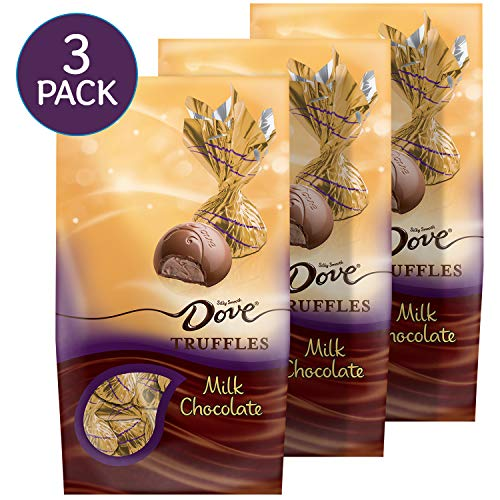 Dove Milk Chocolate Truffles, Valentine's Day Candy Gifts, 5.31 Oz (Pack of ()