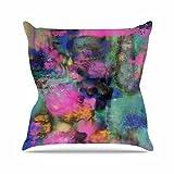 KESS InHouse NM1070AOP03 18 x 18-Inch'Nina May Palisades' Outdoor Throw Cushion - Multi-Colour
