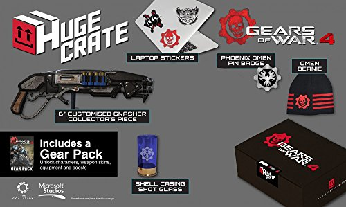 Gears of War 4 Huge Crate Exclusive Merchandise Pack