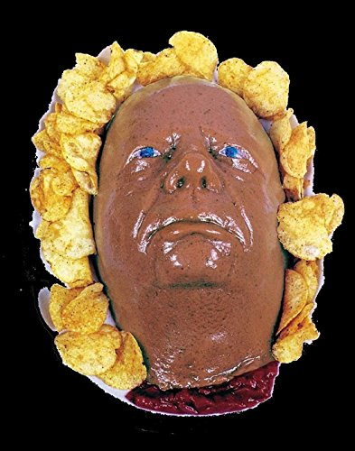 Life Size Severed HEAD DESSERT JELLO GELATIN MOLD Zombie Food Fester Horror Prop
