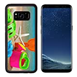 Liili Premium Samsung Galaxy S8 Aluminum Backplate Bumper Snap Case toys for childrens sandboxes against the sea and the beach 28412835