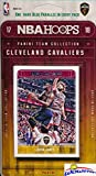 Cleveland Cavaliers 2017/18 Panini Hoops NBA Basketball EXCLUSIVE Factory Sealed Limited Edition 13 Card Team Set with LEBRON JAMES, Dwayne Wade, Derrick Rose & More! Shipped in Bubble Mailer! WOWZZER