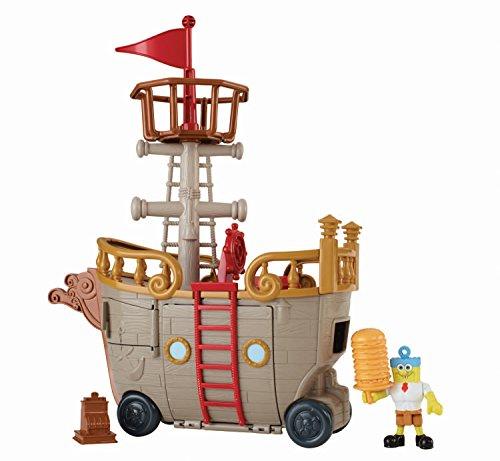 Fisher-price Imaginext Nickelodeon Spongebob Squarepants Krabby Patty Food Truck
