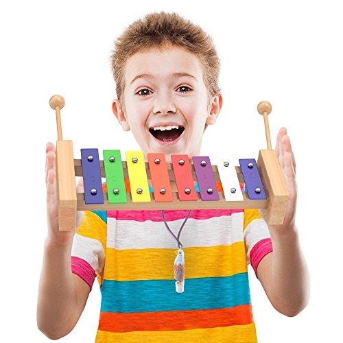 aGreatLife Оркестровые музыкальные инструменты Wooden Xylophone