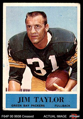 1964 Philadelphia # 80 Jim Taylor Green Bay Packers (Football Card) Dean's Cards 3 - VG Packers ()