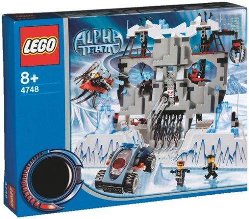 LEGO Alpha Team 4748 - Ogels Basisstation, 431 Teile