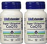 #4: Life Extension Super Ubiquinol CoQ10 with Enhanced Mitochondrial Support, 200mg, 30 Softgels, 2 Bottles