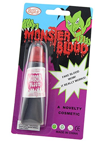Century Star Vampire Fake Blood Plasma Teeth Costume Accessory Halloween Party Favors Plasma One Size