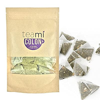 Detox Tea for Teatox & Flat Tummy Weight Loss to get Skinny Fit | Colon Cleanse by Teami Blends | Best to Raise 100% Natural Energy & Boost Metabolism | Reduce Bloating and Constipation. 30 Day Supply