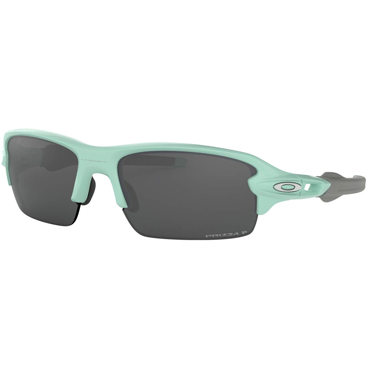 Oakley Men's Flak XS Sunglasses,OS,Arctic Surf/Prizm Black Polarized