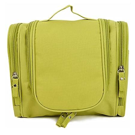 Oriental eLife Toiletry Bag Voyage, ¨¦tanche Hanging Toiletry Bag Makeup Organizer-vert