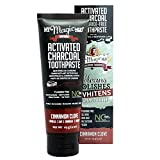 My Magic Mud Activated Charcoal Toothpaste for Whitening- Cinnamon Clove 4 oz (113 g)