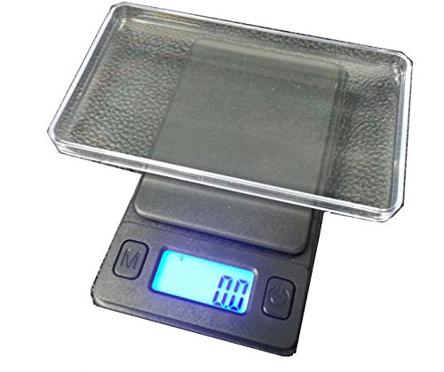 (XERO X5 Elite Digital Pocket Scale 100 x 0.01g, with Back-lit LCD Display, Mini Digital Weighing Scale 100g for Jewelry Coins Reload and Kitchen Scale)