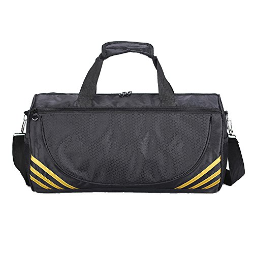 Duffle Yogo Gym Water Travel Sports Men Luggage Adanina Golden s Lightweight Women For Bag Bags Foldable resistant amp; SqytxY