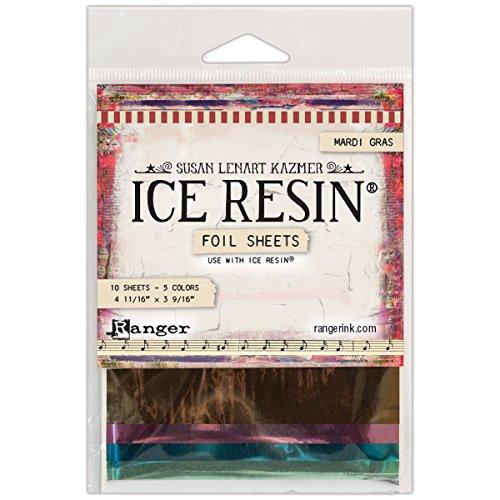 Ranger IRA49975 Ice Resin Foil Sheets