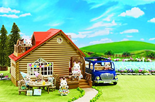 Calico Critters Lakeside Lodge Gift Set (Rabbit Sun Fun Mix)