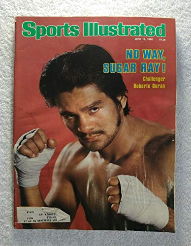 Roberto Duran - Boxing - Sports Illustrated - June 16, 1980 - SI