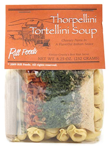 Rill Foods Thorpellini Tortellini Soup Mix 8.25 oz