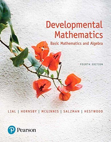 Top 9 developmental mathematics 4th edition for 2020
