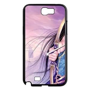 Archery Samsung Galaxy N2 7100 Cell Phone Case Black Txbn