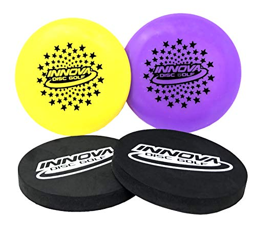 Innova Kneesaver and Mini Set Pack of 2 - Includes 2 Kneesavers and 2 Limited Edition Innova Stars Mini Discs