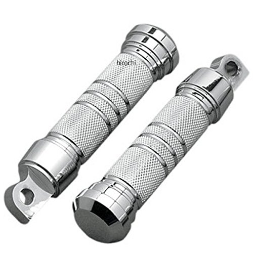 アクトロニクス Accutronix フットペグ ローレット 5.25インチ(133mm) クローム 1811-8503 RP111-KGC   B01LZ1MW5D