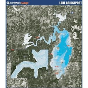Lake Bridgeport Paper Map (Navionics Paper Map)