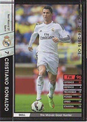 Amazon.com: wccf 14 – 15 OE/A127/Cristiano Ronaldo: Toys & Games