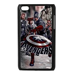 Classic Case The Avengers pattern design For Ipod Touch 4 Phone Case