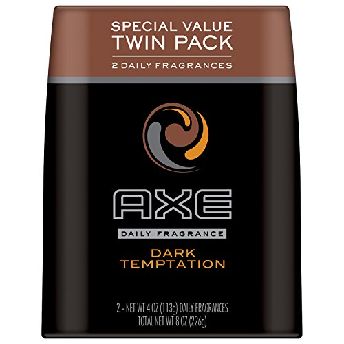 AXE Body Spray for Men, Dark Temptation 4 oz, Twin (Axe Deodorant Body Spray Essence)