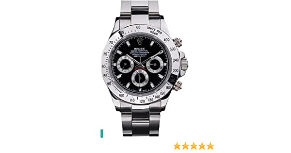Amazon.com: Replica Rolex Daytona-Black Dial Watch: Health & Personal Care