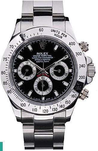 Replica Rolex Daytona-Black Dial Watch