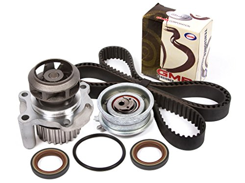 Golf Jetta New Beetle - Evergreen TBK296WPT 98-06 Volkswagen Beetle Golf Jetta 2.0L SOHC 8V Timing Belt Kit Water Pump