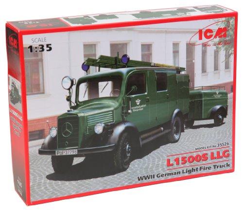(ICM Models L1500S LLG WWII German Light Fire Truck Building)
