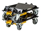 Omega 47020 2000 lb HD 3 in 1 Car Dolly Set, 1 Pack
