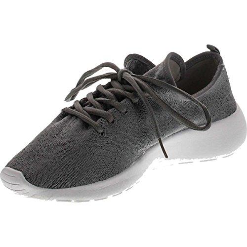 Pour Toujours Lien Femmes Relax-1 Super Léger En Cours Dexécution Sport Respirant Sneaker Chaussures Gris